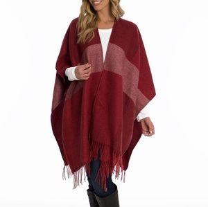 NWT Woolrich Cozy Wrap Blanket Scarf One Size